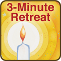 english 3 minute retreat